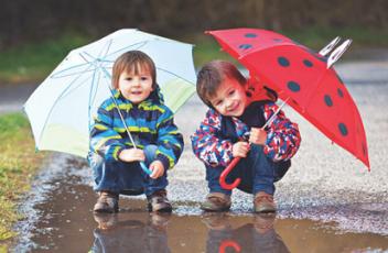 Ветровки для детей. Модно и практично