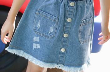 Джинсовые юбки оптом