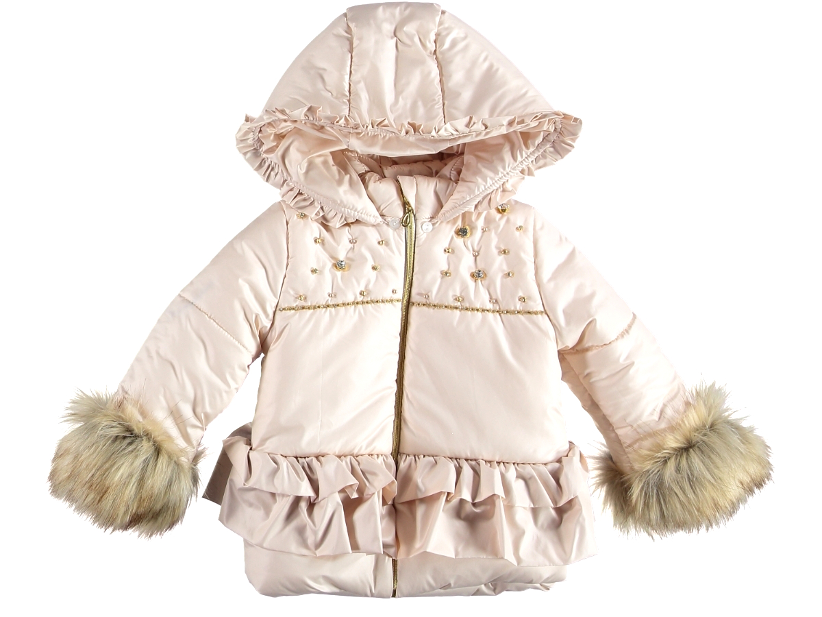 Куртка 2/5 лет кремового цвета 314046