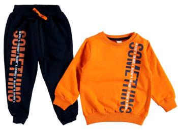Костюм 2/5 лет оранжевого цвета 309237